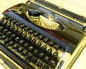 Princess 300 9ct GOLD typewriter